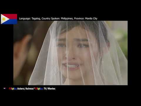 Filipino Drama: Dolce Amore: Serena marries Gian Carlo