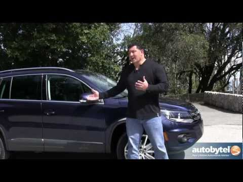 2012 Volkswagen Tiguan: Video Road Test and Review