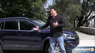 2012 Volkswagen Tiguan Test Drive&Crossover Video Review