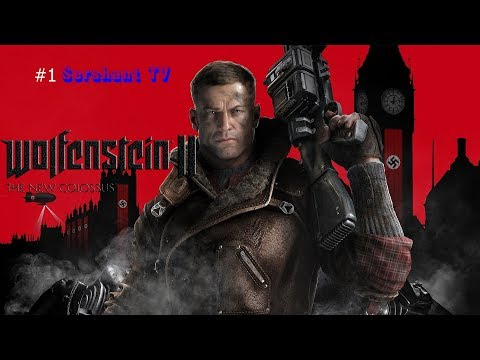 Wolfenstein 2 the new colossus: прохождение #1
