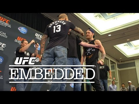 5 - On episode #5 of UFC 178 Embedded, Donald