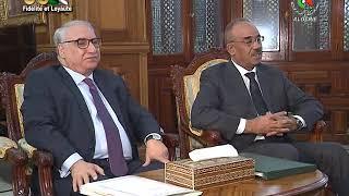 Bensalah reçoit Bedoui : passage en revue de la situation politique et socio-économique du pays