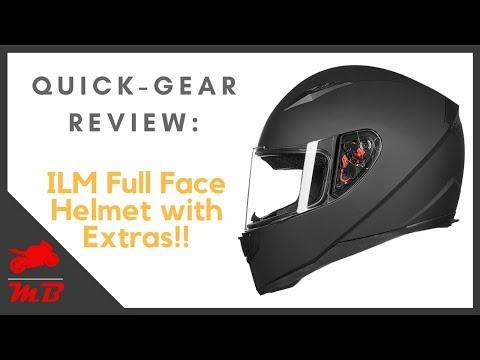Gear Review: ILM Full Face Helmet | Best Helmet for $50!