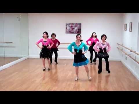 American Kids Line Dance(排舞:美國兒童) (видео)