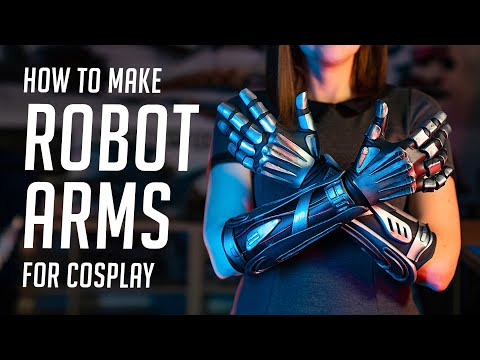 How to Make Robot Arms for Cosplay