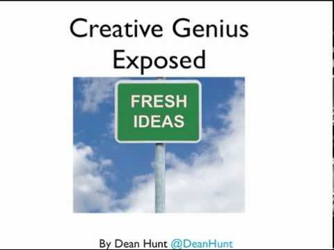 Creative Genius Exposed – A Blueprint for Creative Ideas.