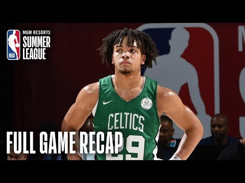 Video: CELTICS vs 76ERS | Carsen Edwards Scores 20 In Debut | MGM Resorts NBA Summer League