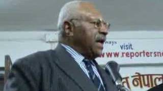 Military Coup Cannot Sustain In Nepal: Ex-Fijian PM