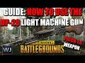 GUIDE: How to use the NEW DP-28 LMG (Patch 10 preview) in PUBG