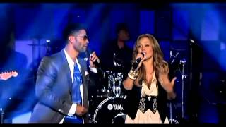 (HD) Tamia and Eric Benet - Spend My Life Live @ Verses and Flow (2012) - YouTube