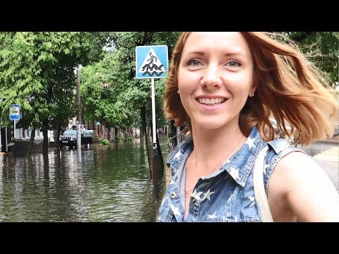 Краснодар снова затопило  Мои планы  Улицы Краснодара - DomaVideo.Ru
