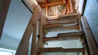 Лестница на чердак (изготовление)