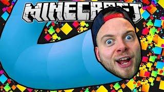 SLITHER.IO IN MINECRAFT! - Worm Mini Game! by iBallisticSquid
