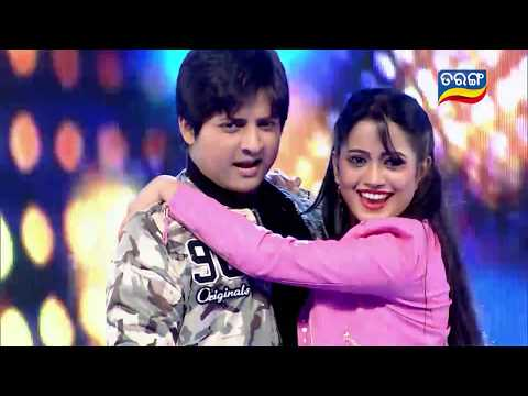 Babushaan & Elina nka Superb Dance on Shehzadi Shehzadi | 8th Tarang Cine Awards 2017