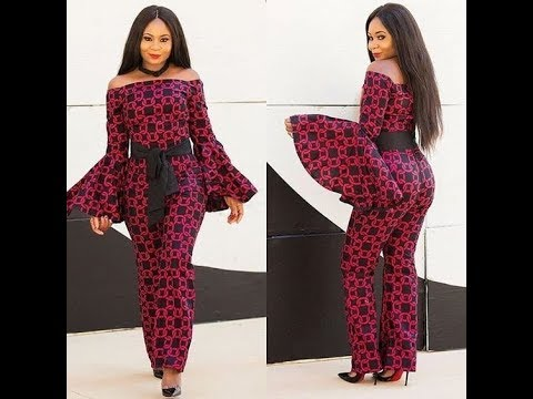 2019 Most Recent #Ankara Jumpsuit: Check New Collection Of #Ankara Jumpsuit You Will Love Them