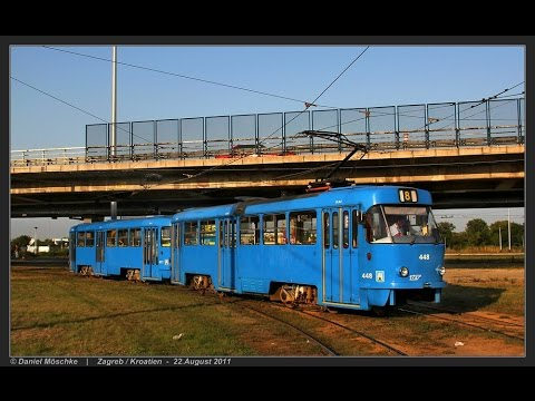 Die Straßenbahn in Zagreb - Tramvaj u Zagrebu (21.-24.08.2011)