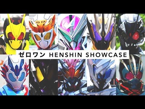 KR Zero-One【All Riders Henshin】