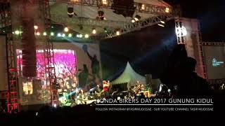 Bojo Galak || Kuat Dilakoni Ra Kuat Tinggal Ngopi || Honda Bikers Day 2017 Gunung Kidul