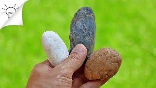 นำเสนอไอเดียง่ายๆ จากหินในสวน ลองเก็บหินมาทำอะไรเล่นกันดีกว่า