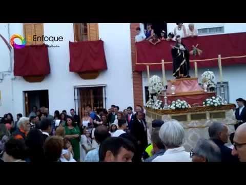 Corpus de La Puebla del Río 2015 - Santa Juliana Falconieri