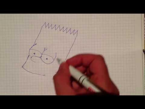 Bart Simpson zeichnen – Simpsons zeichnen – Schritt für Schritt