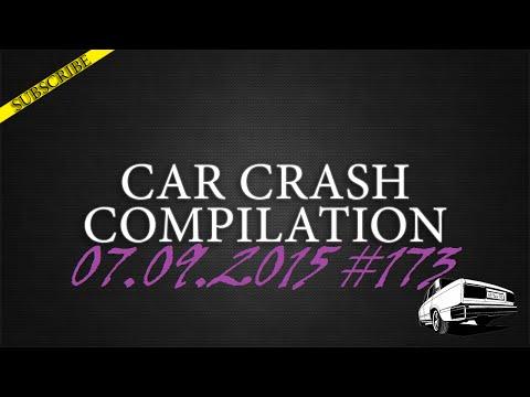 Car crash compilation #173 | Подборка аварий 07.09.2015