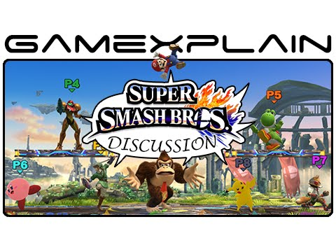 update - http://www.GameXplain.com We catch up on the latest updates for Super Smash Bros. Wii U & 3DS in our weekly discussion! We talk about the new 8-Player Smash mode, a neat Punch-Out!! detail...