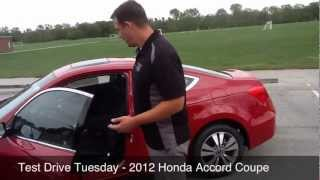Test Drive Tuesday - 2012 Honda Accord Coupe