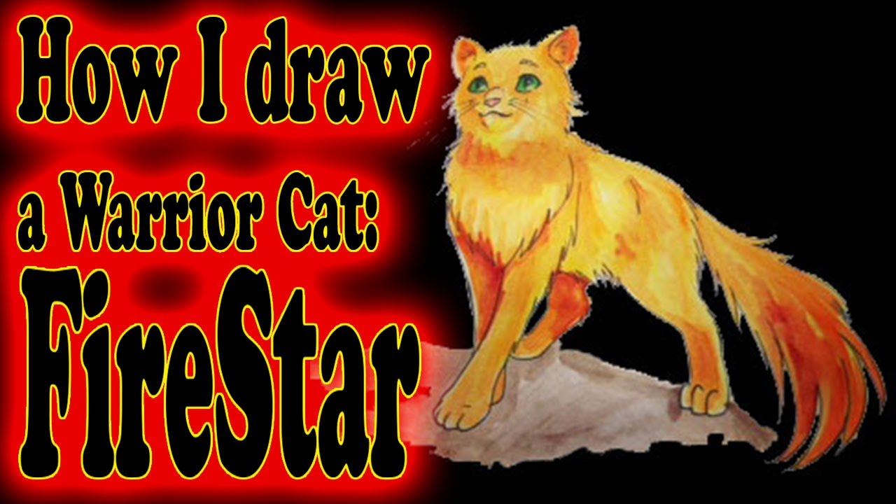Art Ala Carte · How I Draw A Warrior Cat