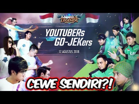 IKUT LOMBA 17an TAPI DI MOBILE LEGENDS VS GOJEK HAHAHA!