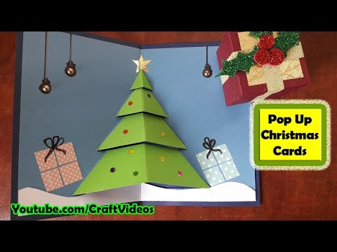 Pop up Christmas Card making tutorial