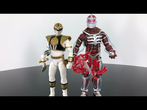 Hasbro Power Rangers Lightning Collection White Ranger & Lord Zedd Review