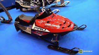 6. 2015 Polaris Pro-R 120 Snowmobile - Walkaround - 2014 EICMA Milan Motorcycle Exhibition
