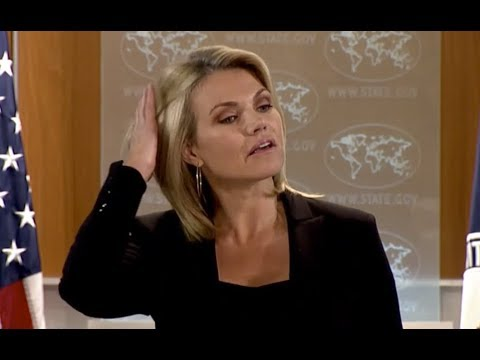 WATCH: US State Department DAILY Press Briefing with Heather Nauert on Global Threats