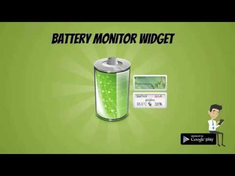 Video of Battery Monitor Widget