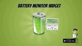 Battery Monitor Widget Pro YouTube video