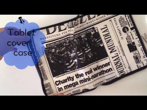 Tablet cover case DIY