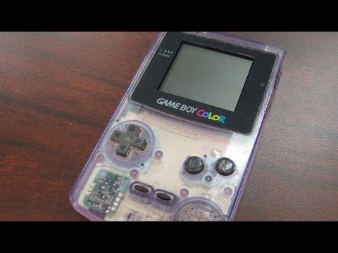 color - Nintendo Game Boy Color review! http://classicgameroom.com/vaultpages/vaultpage/game-boy-color-console-game-boy-color/ Classic Game Room reviews the NINTENDO GAME BOY COLOR handheld game system...