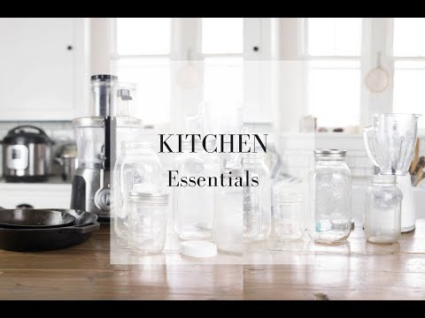 Top Ten Kitchen Essentials For A Traditional Foods Kitchen- Minimalist Kitchen Essentials List