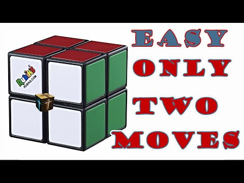 How To Solve a 2x2 Rubik's Cube | Simple Method Easy Step by Step Tutorial only 2 easy Moves
