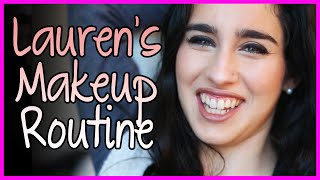 Lauren's MakeUp Routine - Fifth Harmony Takeover Ep. 47