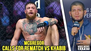 McGregor: Looking forward to the rematch. I'll be back; Khabib official statement;UFC 229 Highlights