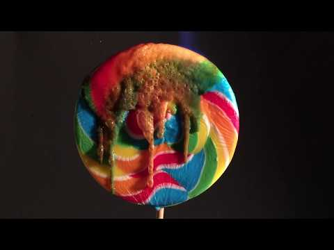 Unmelting A Candy Lollipop Is Oddly Satisfying