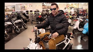6. Special Edition Burberry Livery: 2018 Honda Ruckus - Wow LOL!