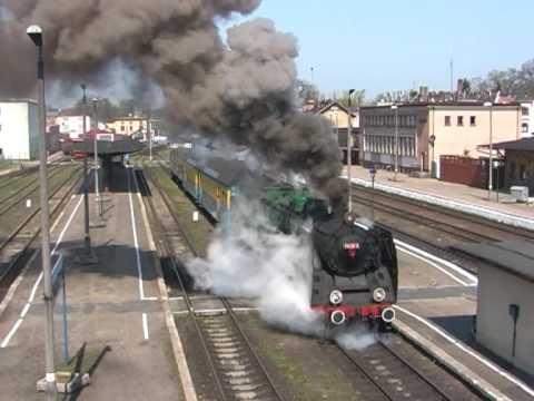 Pm36-2 am Bahnsteig von Wolsztyn