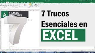 Video 7 trucos avanzados de Excel que necesitas saber para conseguir trabajo MP3, 3GP, MP4, WEBM, AVI, FLV September 2019