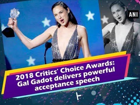 2018 Critics' Choice Awards: Gal Gadot delivers powerful acceptance speech - Hollywood News
