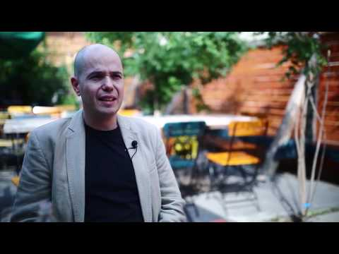 Szántó T Gábor író, a Szombat főszerkesztője az identitáskeresésről beszélt.