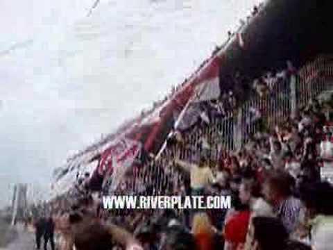 RECIBIMIENTO DE RIVER EN LA BOMBONERA SEGUNDO TIEMPO - Los Borrachos del Tablón - River Plate - Argentina - América del Sur