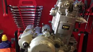 8. Ktm exc 525 2005 engine rebuilds at CMF Motocross assessment
